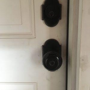 Customer door at residence in Farmington CT
