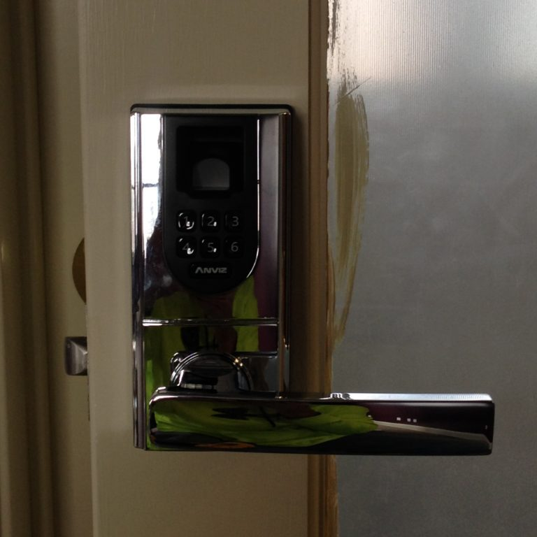 commercial installation of fingerprint lock in south windsor